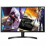 LG 32UK550-B 32 Inch 4K UHD Monitor with Radeon Freesync Technology and HDR 10