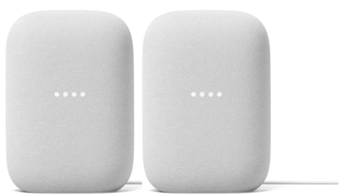 Sam's Club Members: 2-Pack Google Nest Audio Chalk