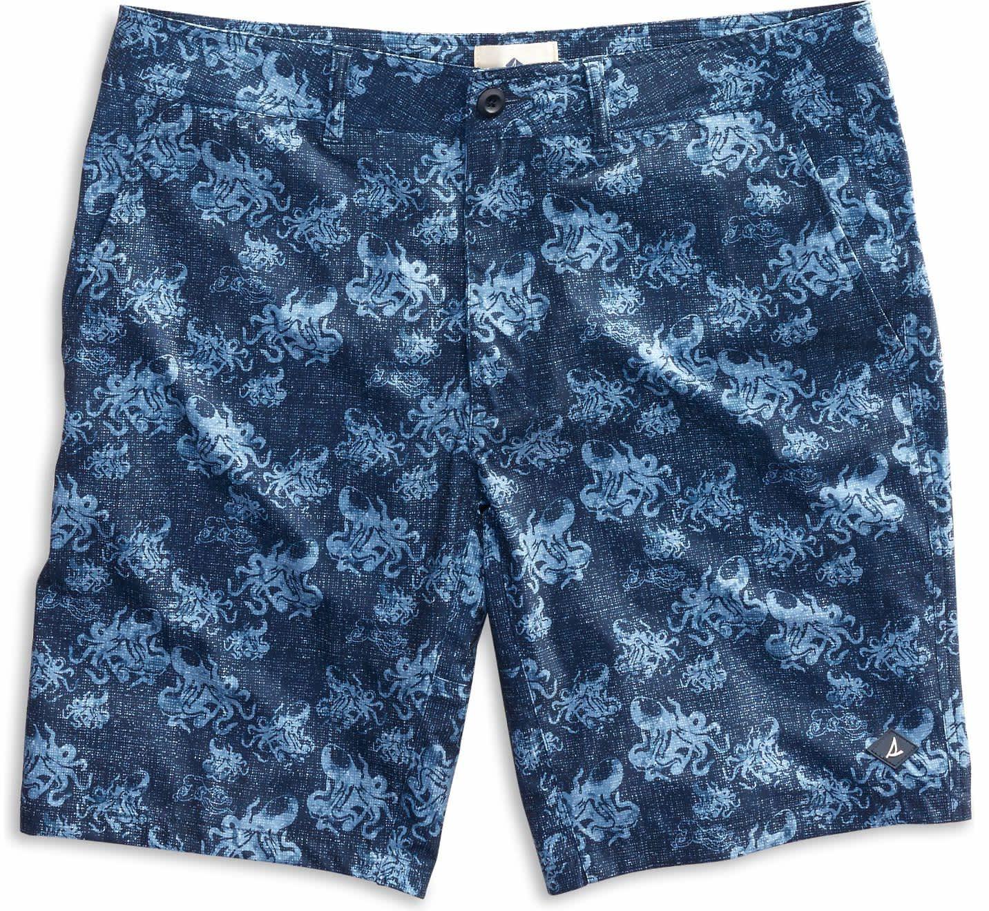 Sperry Men's Octopus Print Swim Shorts