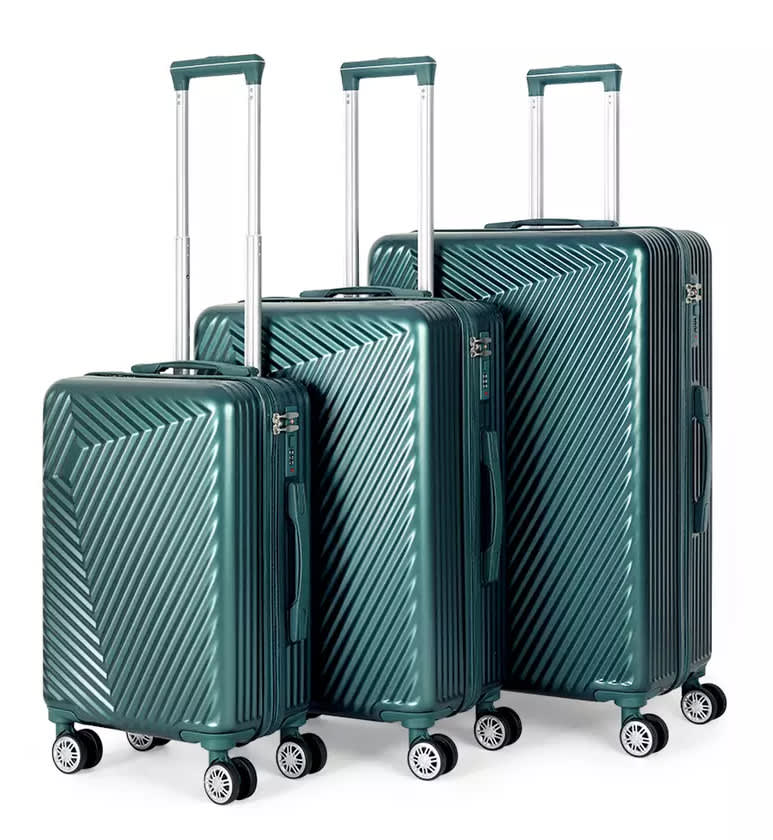 3-Piece Hard Shell Spinner Luggage Set