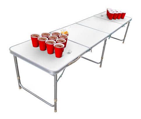 Saddlebred Foldable Dry Erase Cup Pong Table