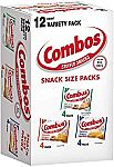 12-Count Combos Variety Pack Fun Size Baked Snacks
