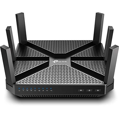 TP-Link AC4000 Smart WiFi Router - Tri Band Router , MU-MIMO, VPN Server