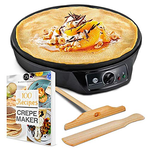 "G&M Kitchen Essentials 12"" Crepe Maker"