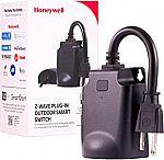Honeywell 39363-CS2 UltraPro Z-Wave Plus Outdoor Plug-in Switch