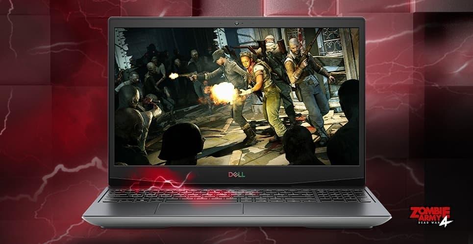 "Dell G5 15 SE Gaming Laptop: Ryzen 5 4600H, 15.6"" FHD 120Hz, 256GB SSD, RX5600M"