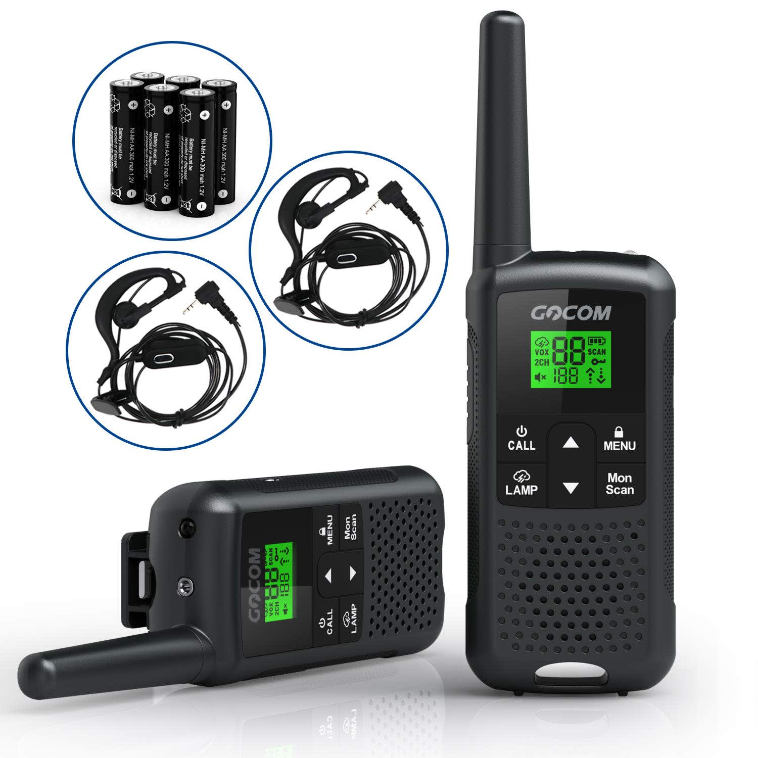 Gocom Walkie Talkie 2-Pack