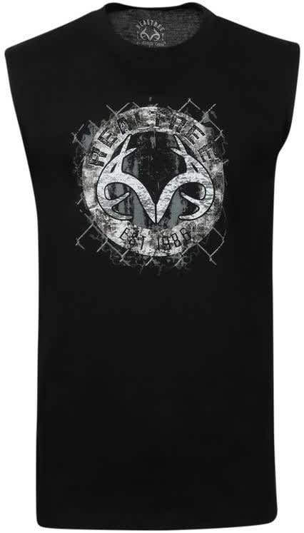 Realtree Men's Graphic Muscle T-Shirt