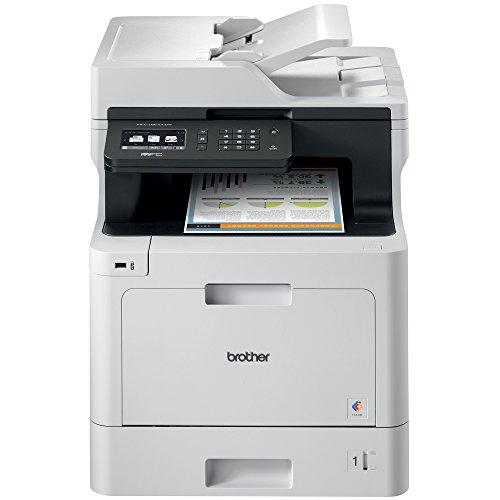 Brother Color Laser Printer, Multifunction Printer, All-in-One Printer