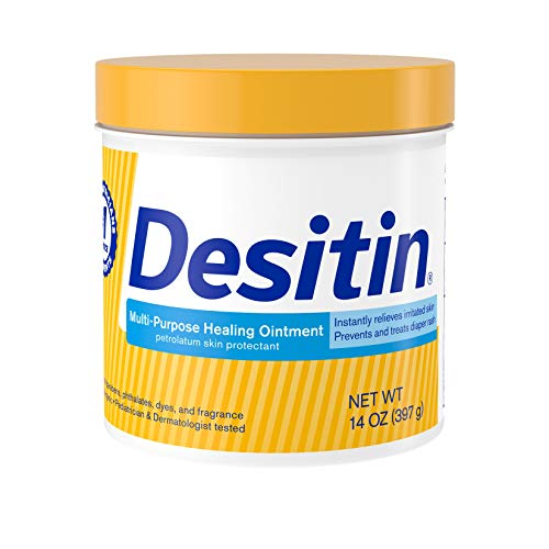 Desitin Multipurpose Baby Diaper Rash Ointment & Skin Protectant with White Petrolatum, 14 oz