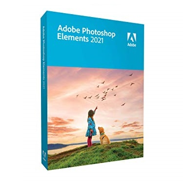 金盒特价!2021版!Adobe Photoshop Elements  软件