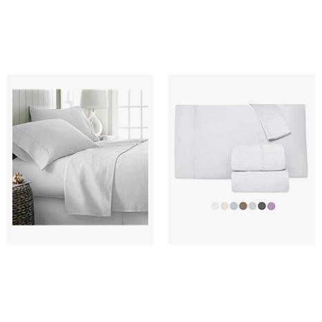 金盒特价!Amazon精选 Comfy Sheets 埃及棉 床上用品促销!