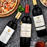 6-Bottles Martha Stewart BORDEAUX REDS Wines