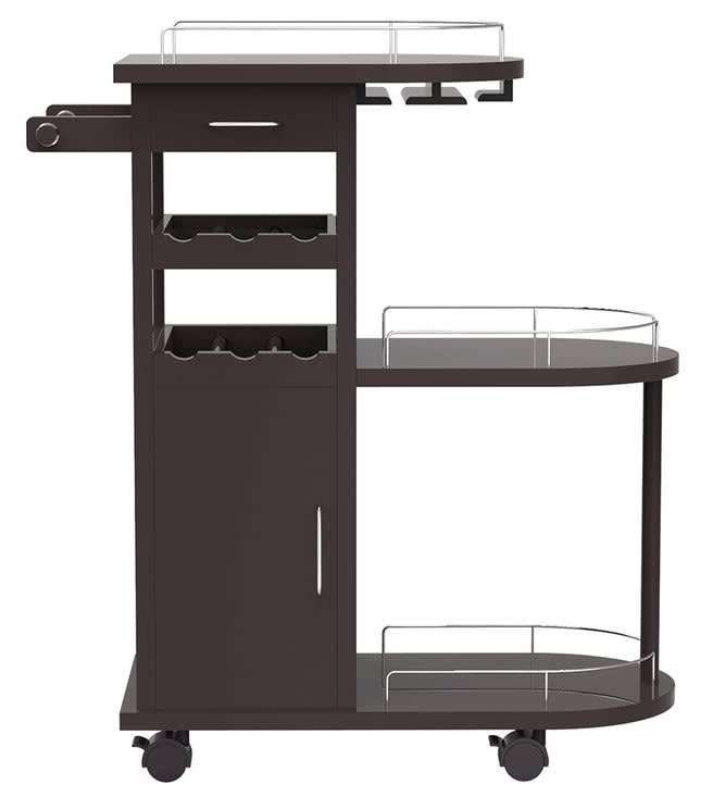 Morinome Beverage Serving Cart