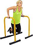 ProsourceFit Dip Stand Station, Ultimate Heavy Duty Body Bar Press with Safety Connector