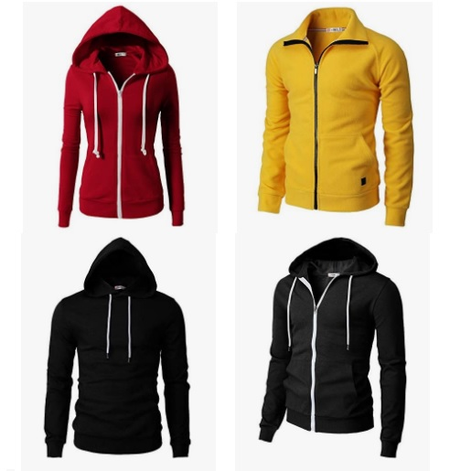 Amazon: 20% off H2H Men's Fashion Hoodies