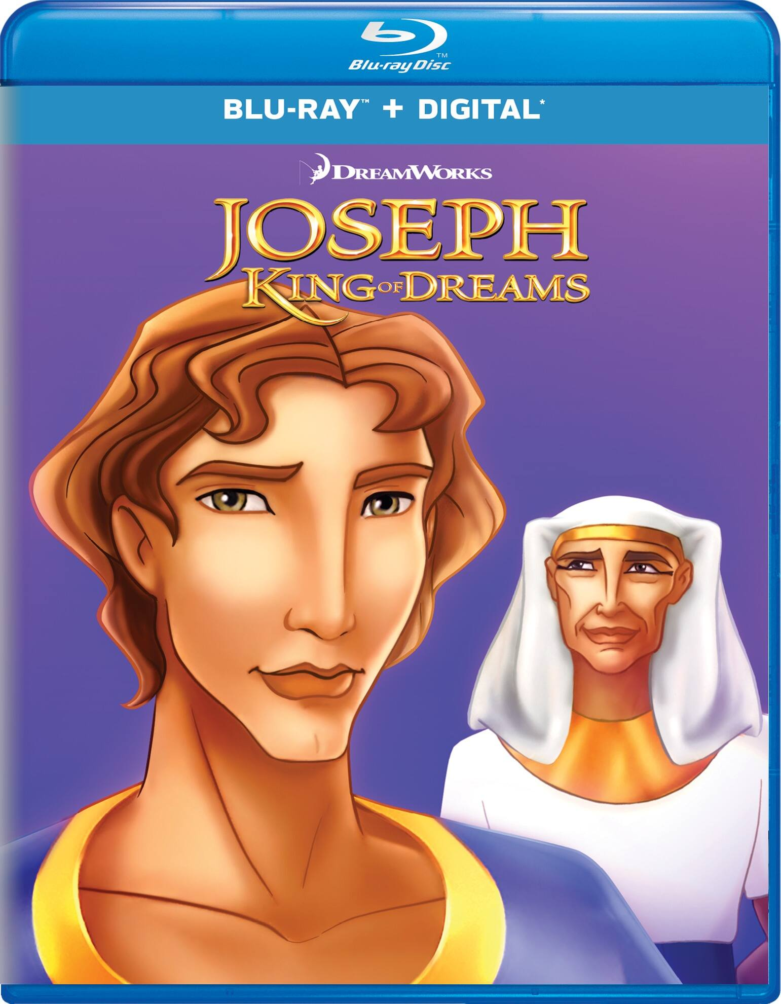 Joseph: King of Dreams (Blu-ray + Digital)
