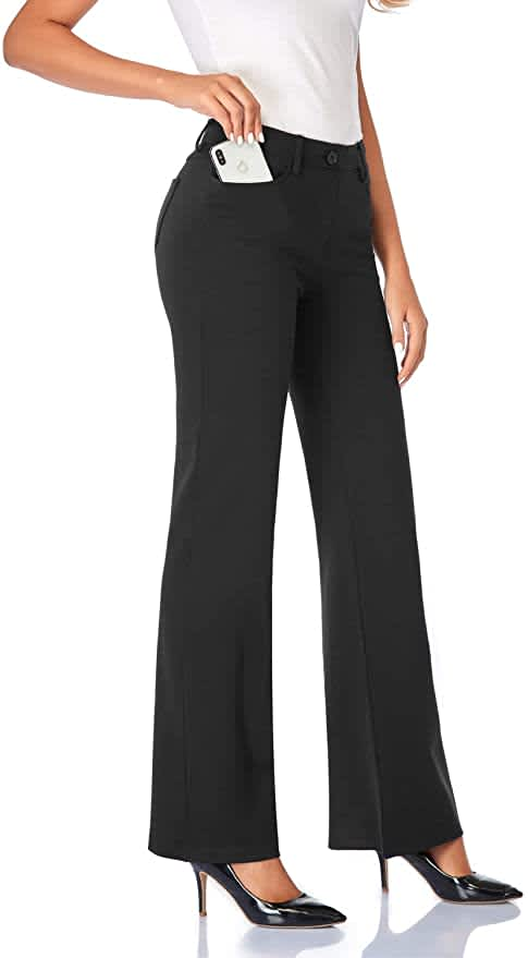Tapata Women's Stretchy Dress Pants