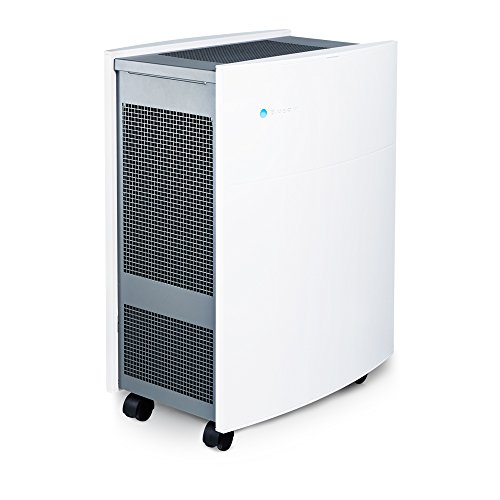 Blueair Classic 605 Air Purifier, True HEPA Performance by HEPASilent Filtration for Allergen, Dust, Mold Reduction, Asthma and COPD Relief, Large Room