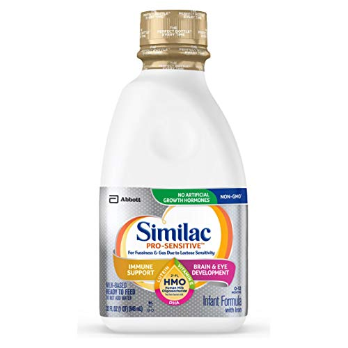 Similac Pro-Sensitive 婴儿液体奶, 32 oz/瓶,共6瓶