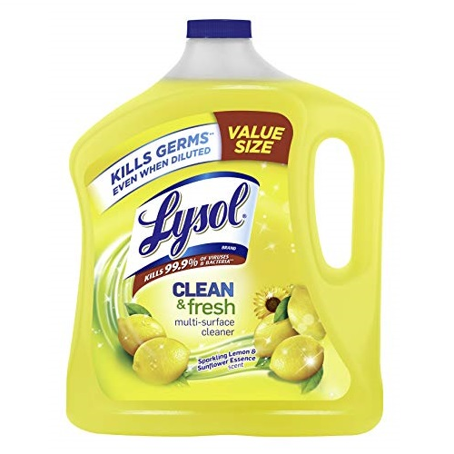 Lysol Clean & Fresh Multi-Surface Cleaner, Lemon & Sunflower, 90 oz