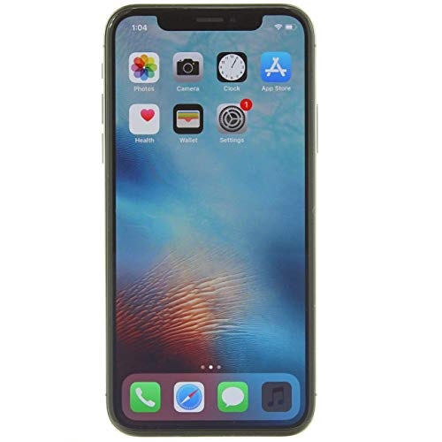 Apple iPhone X, 64GB, Space Gray - Fully Unlocked (Renewed Premium)