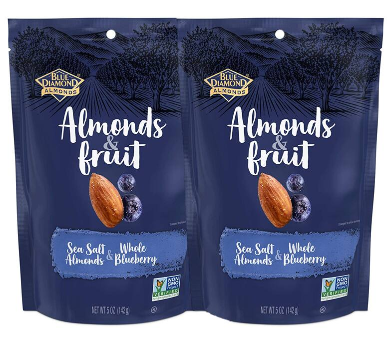 5-oz Blue Diamond Almonds & Fruit Bag (various flavors)