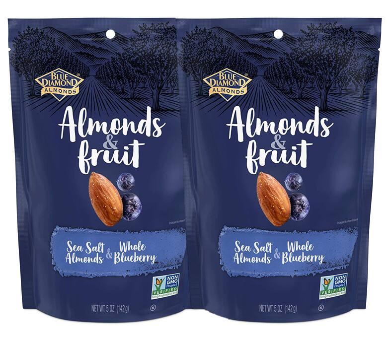 5-oz Blue Diamond Almonds & Fruit Bag (various flavors)