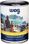 12-pk Wag Wet Canned Dog Food Chicken & Vegetable