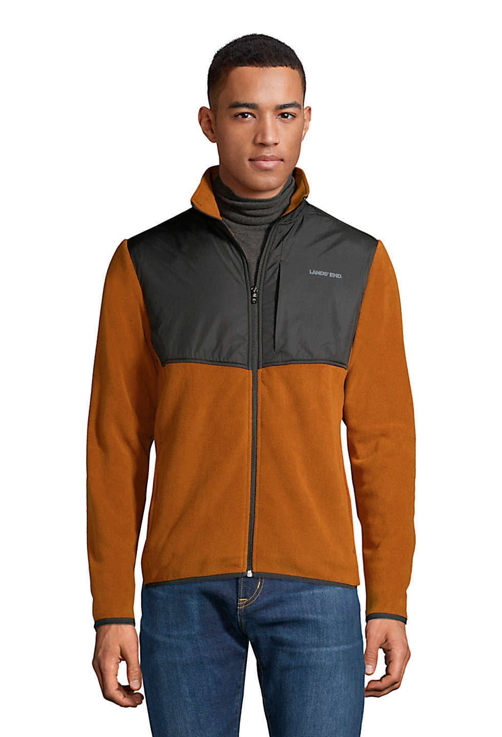Lands' End Men's T200 Fleece Jacket