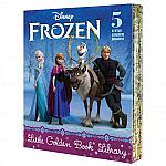 5-Book Little Golden Book Disney Frozen Library Hardcover Set