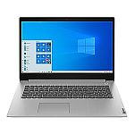 "Lenovo IdeaPad 3 17IIL05 17.3"" HD+ Laptop (i3-1005G1, 8GB, 256GB SSD, 81WF000TUS)"