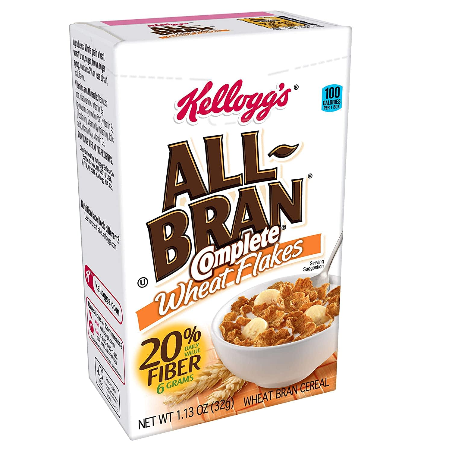 Kellogg's All-Bran Complete Wheat Flakes 70-Pack