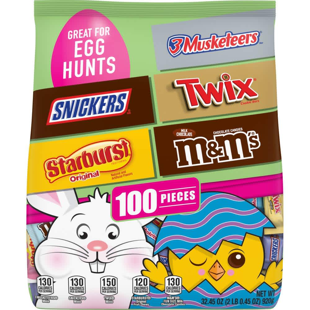 Mars 100-Piece Candy Bag