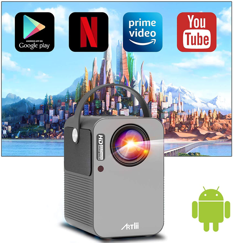ARTLii Play WiFi Bluetooth Smart Projector
