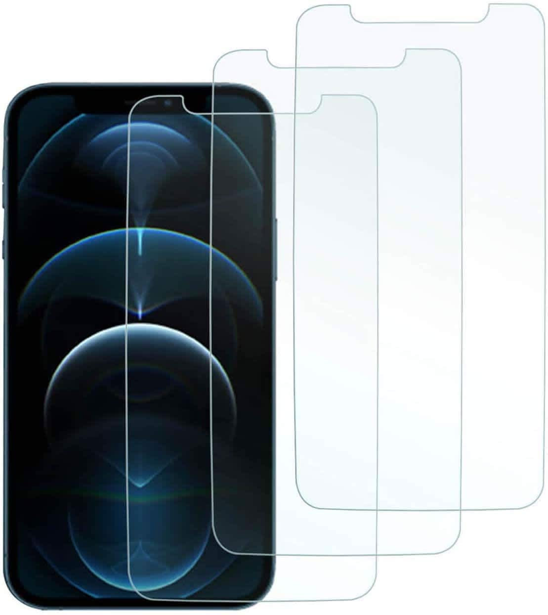 Lookseven Tempered Glass Screen Protector for iPhone
