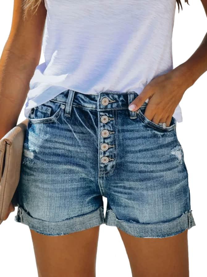 Angerella Women's Mid-Rise Shorts