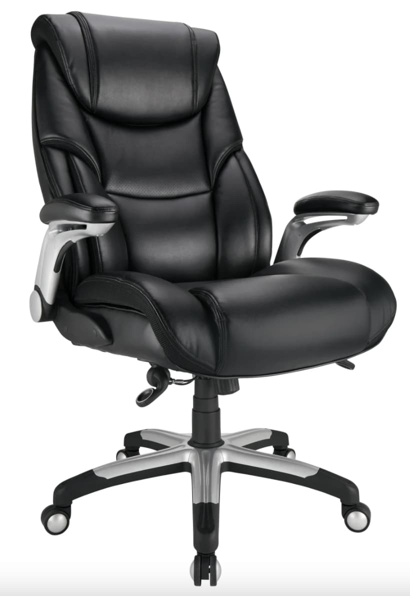 Realspace Torval Big and Tall High-Back Sporty Chair