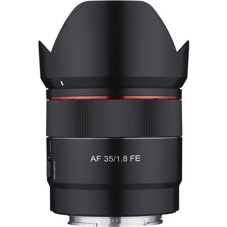 Rokinon AF 35mm f/1.8 FE Compact Full Frame Wide Angle Lens for Sony E