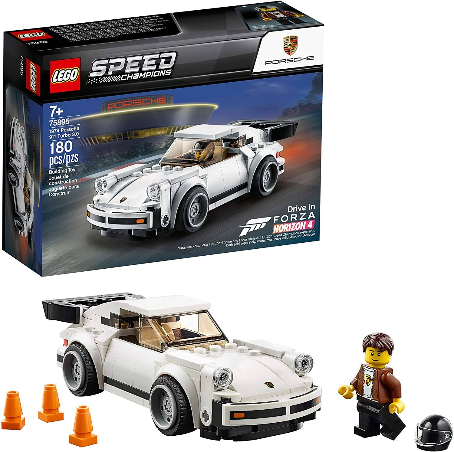 LEGO Speed Champions 1974 Porsche 911 Turbo 3.0 Building Kit