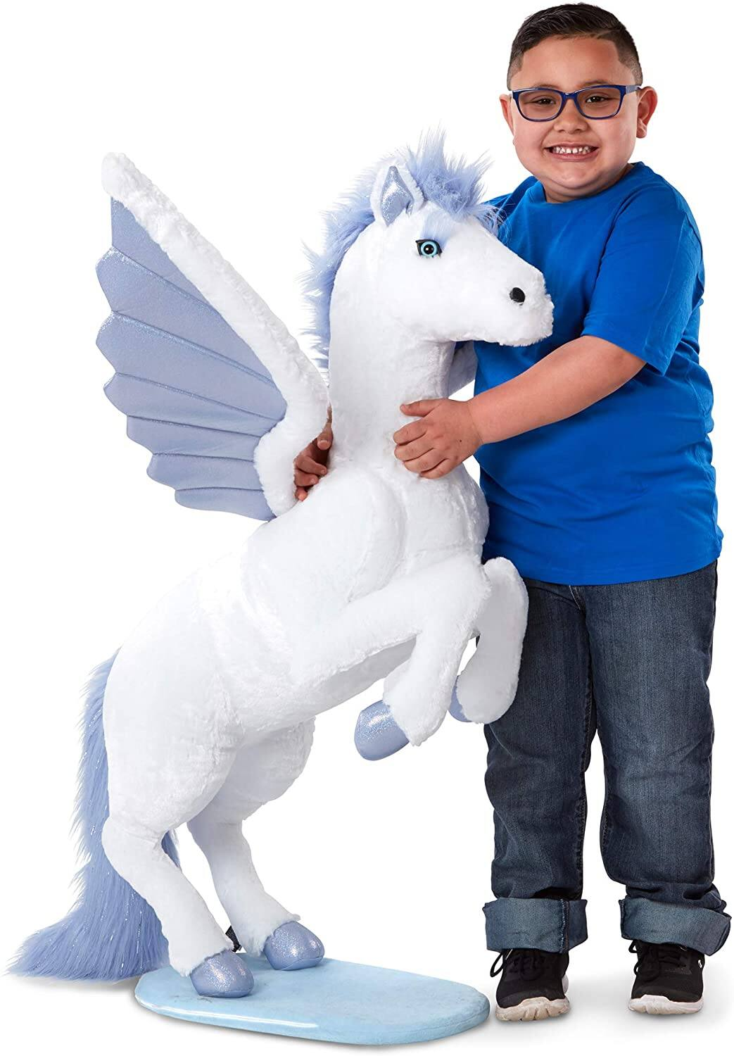 Melissa & Doug Large 3.5' Plush Pegasus