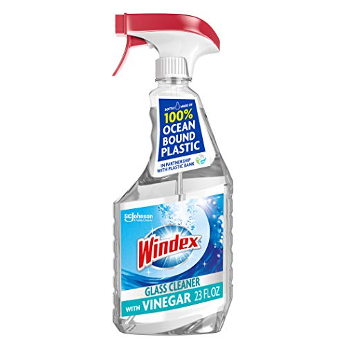 史低价!Windex 含醋配方多表面清洁喷雾, 23 oz