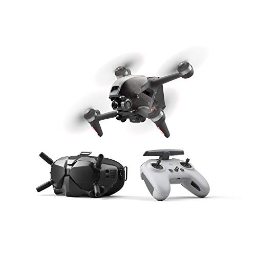DJI FPV Combo - First-Person View Drone UAV Quadcopter with 4K Camera, Brand-New S Flight Mode, Super-Wide 150° FOV, HD Low-Latency Transmission, Emergency Brake and Hover, Gray