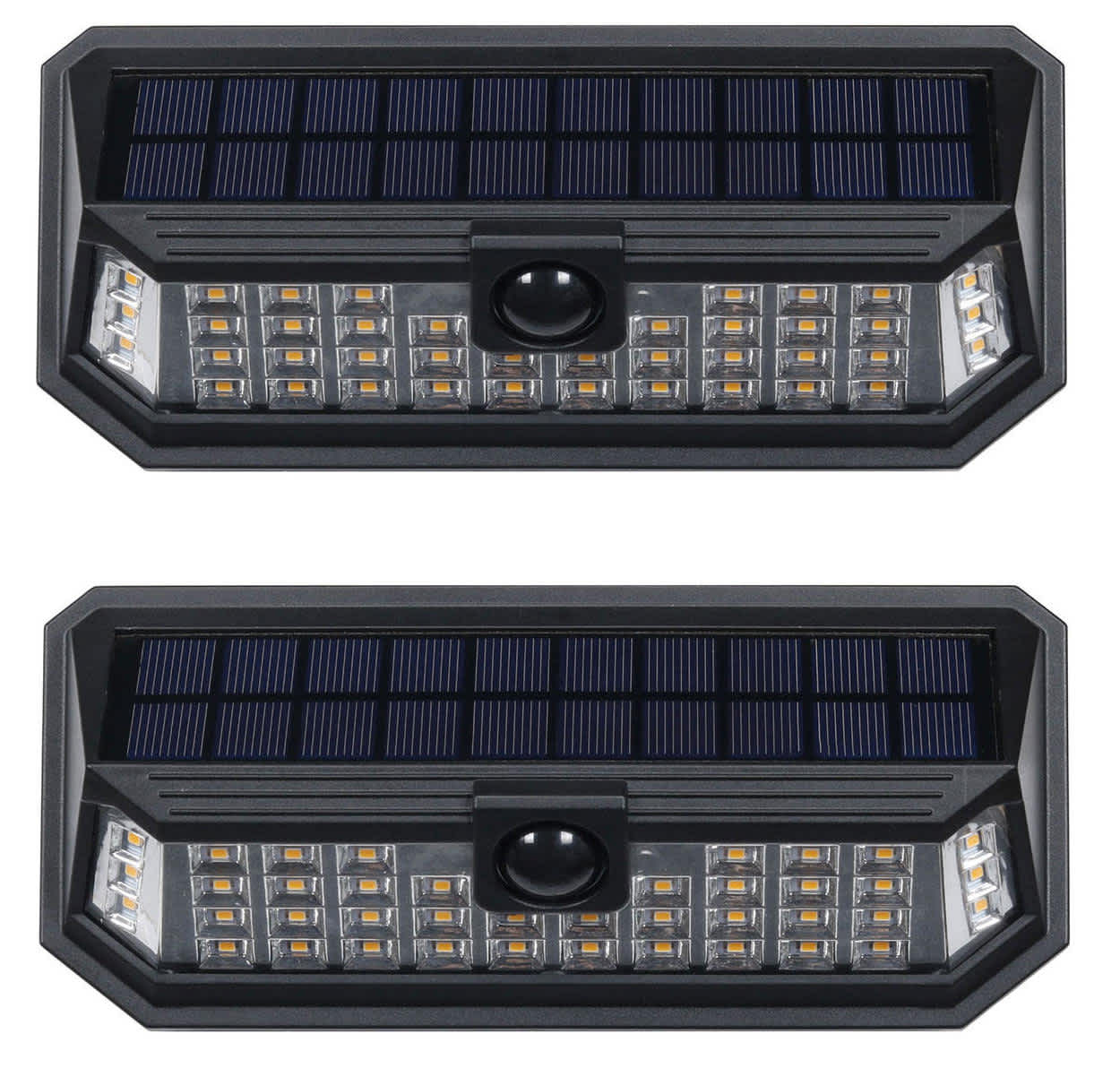 Westinghouse 1,200-Lumen Linked Solar Wall Light 2-Pack