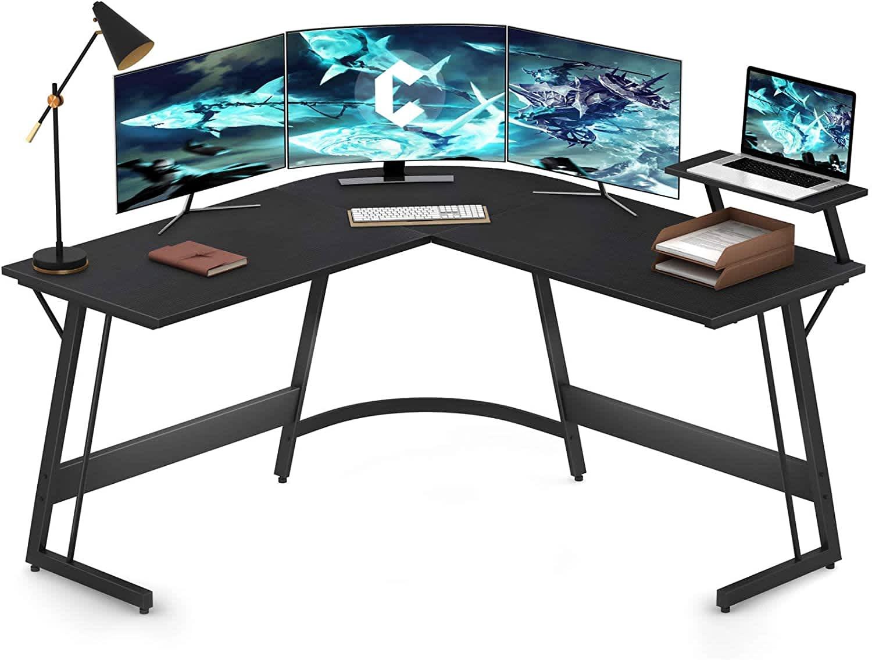 Cubiker Modern L-Shaped Desk Computer Corner Desk