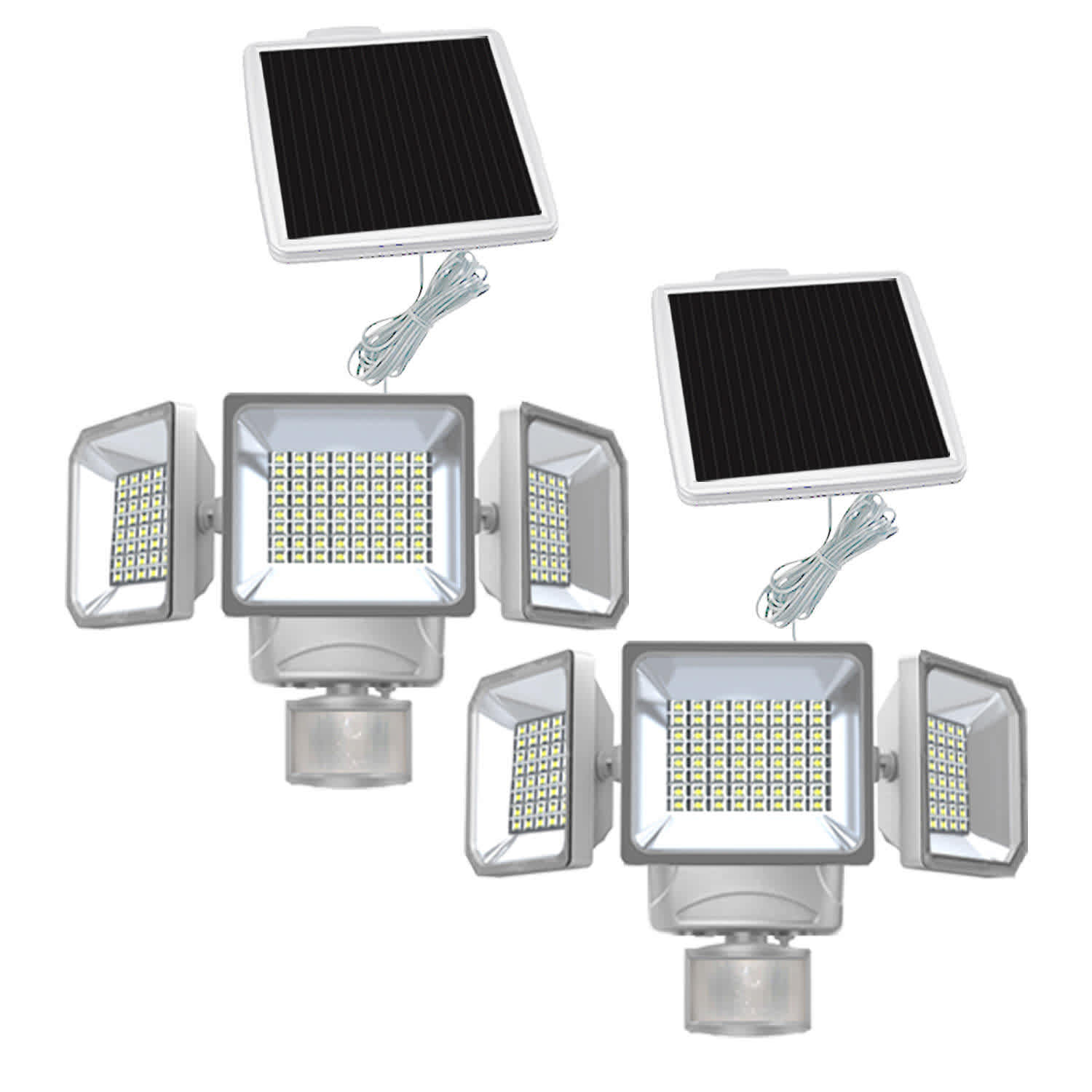 Westinghouse 2,000-Lumen Solar Motion Activated Security Light 2-Pack