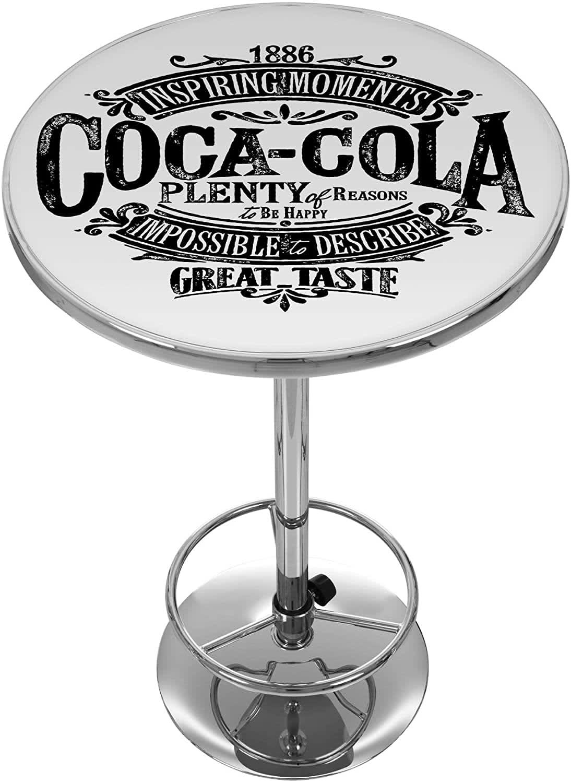 Coca-Cola Brazil 1886 Vintage Logo Pub Table