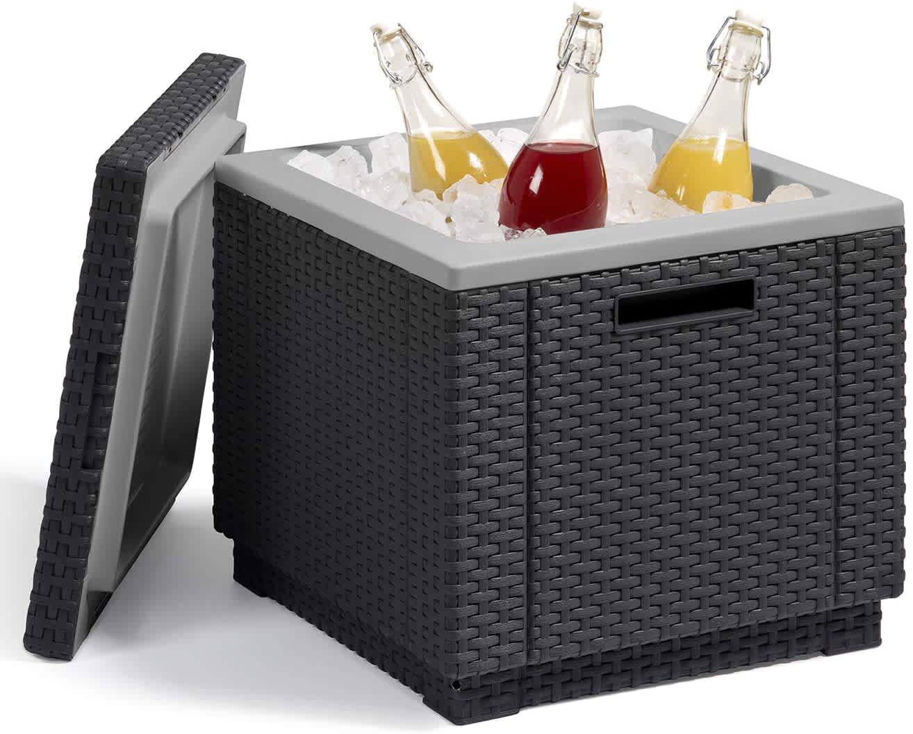 Keter Ice Cube Beer and Wine Cooler Table