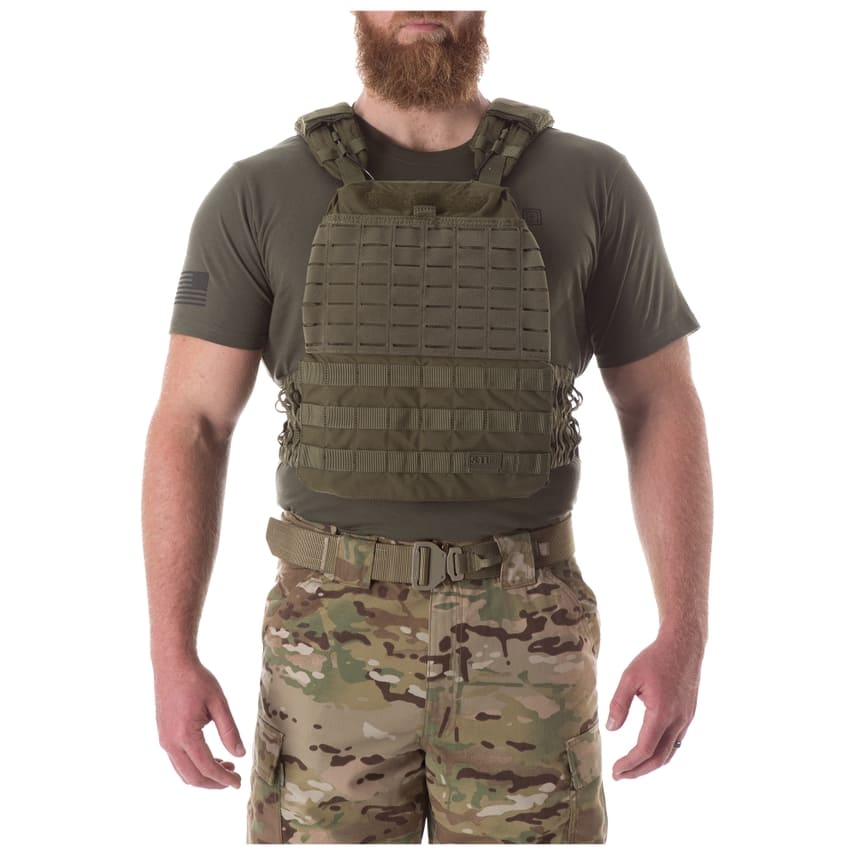 5.11 Tactical TacTec Nylon Fitness/Ballistic Plate Carrier Vest (Vest Only)