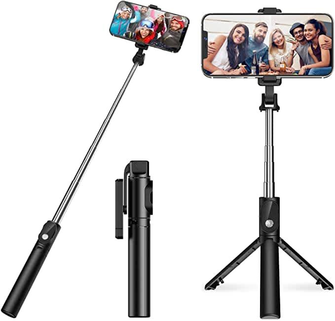 Oria Bluetooth Selfie Stick Tripod